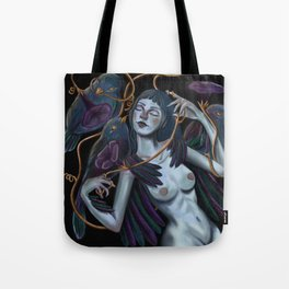Ishtar Ipomoea's dream Tote Bag