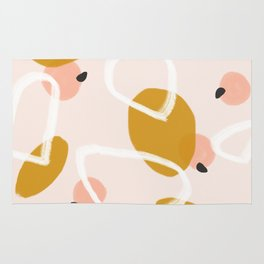 Abstract Fall III #society6 #abstractart Rug