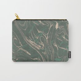 Adrift - Abstract Suminagashi Marble Series - 03 Carry-All Pouch