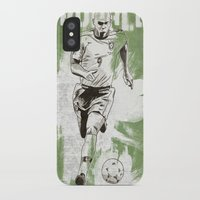 ronaldo iPhone & iPod Cases featuring Ronaldo by Renato Cunha