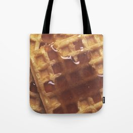 Waffles With Syrup Tote Bag