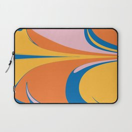 Abstract Retro Beach Vibes Laptop Sleeve