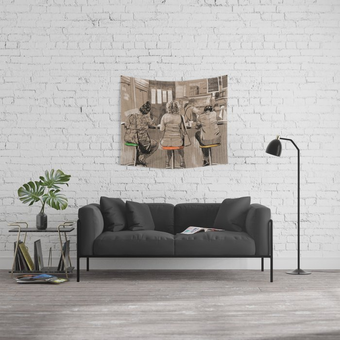 Daily life Wall Tapestry