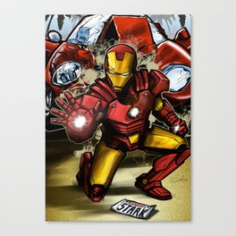 Man of Iron Canvas Print