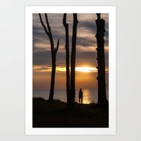 SUN SEEKER Art Print