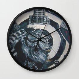 Black Label Wall Clock