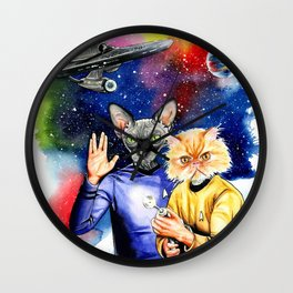 Star Trek sphynx Wall Clock