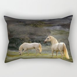 Stallions of the Gods Rectangular Pillow