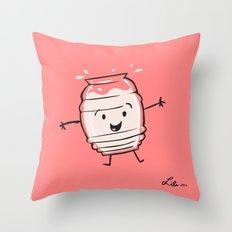 Horchata Throw Pillow