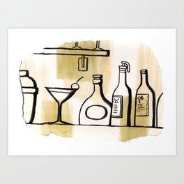 Liqueur Art Print