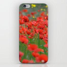 Poppy field 1820 iPhone Skin