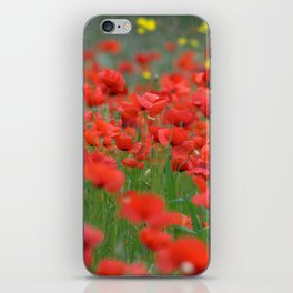 Poppy field 1820 iPhone Skin