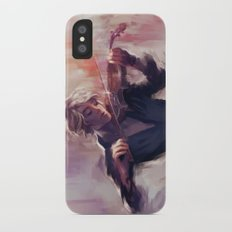 Violin and James Carstairs iPhone X Slim Case