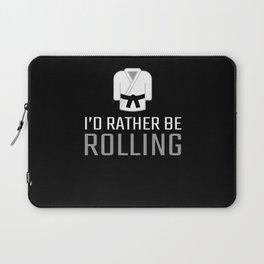 Rolling Brazilian Jiu Jitsu Gifts for Jiu Jitsu BJJ Gifts Laptop Sleeve