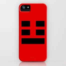 I Ching Yi jing - symbol of Zhèn 震 iPhone Case