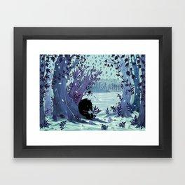 A Quiet Spot of Tea Framed Art Print