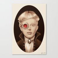"steampunk Canvas Prints featuring ""Steampunk"" by Giulio Rossi"