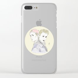 Back to where we began Clear iPhone Case