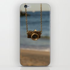 Camera over the ocean iPhone & iPod Skin