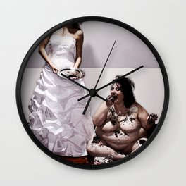 Let Her Eat Cake Wall Clock
