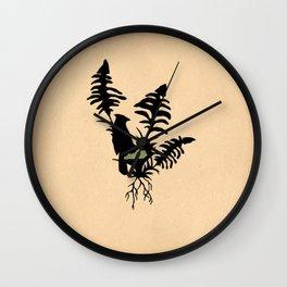 Kentucky - State Papercut Print Wall Clock