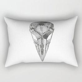 Crow skull Rectangular Pillow