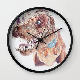 Bloodfen Raptor Dinosaur Wall Clock