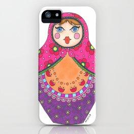 Matrioska iPhone Case