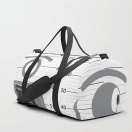 arrested glance Duffle Bag