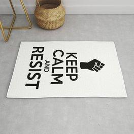 Keep Calm And Resist Rug