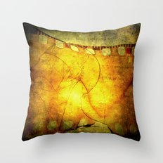 Innermost Thoughts Throw Pillow