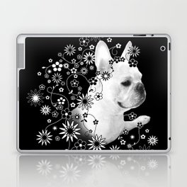 Flower Goddess Frenchie Laptop & iPad Skin