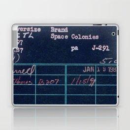 Library Card 797 Negative Laptop & iPad Skin