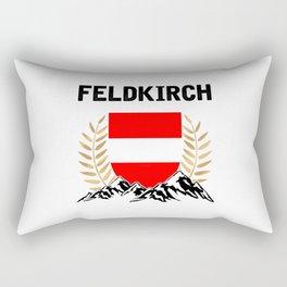 Feldkirch Austria Alps TShirt Austria Flag Shirt Austrian Alps Gift Idea  Rectangular Pillow
