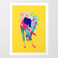 jem Art Prints featuring Jem by Camila Fernandez