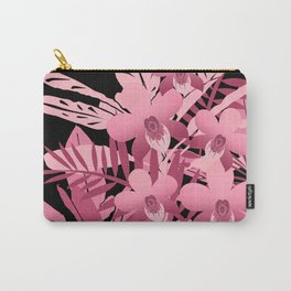 Bouquet of pink tropical plants 2 Carry-All Pouch