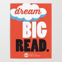 Dream Big - Iowa City Public Library Poster