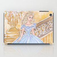 cinderella iPad Cases featuring Cinderella by carotoki art and love