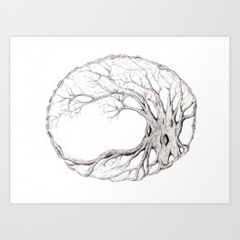 Tree of Life 5 Art Print