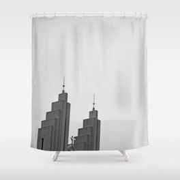 Akureyrarkirkja Shower Curtain