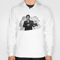 scarface Hoodies featuring Badass 80's Action Movie Quotes - Scarface by Casa del Kables