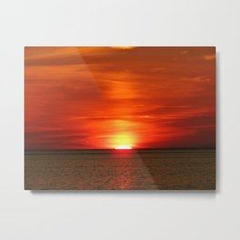 Sunset at Race Point  Metal Print