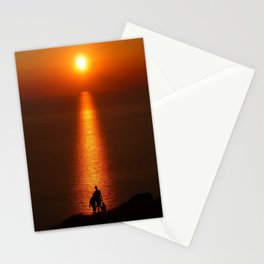 Walk The Path To The Sun Stationery Cards