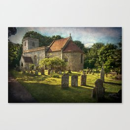 St Peter and St Paul Checkendon Canvas Print