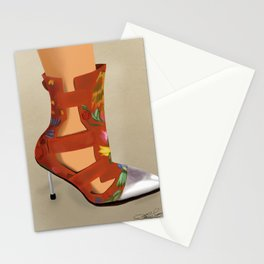 Red Boot Stationery Cards