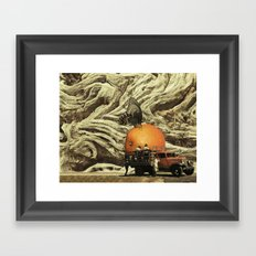Hoy Descanso Framed Art Print