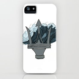 Poseidon's Wave iPhone Case