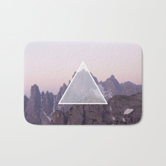 Mountain Triangle Bath Mat