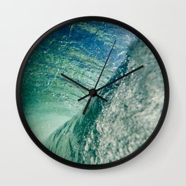Inner Wave Break Wall Clock