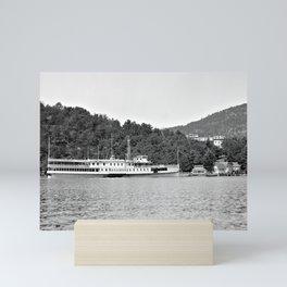 Sagamore Steamboat, 1900-1910 Mini Art Print